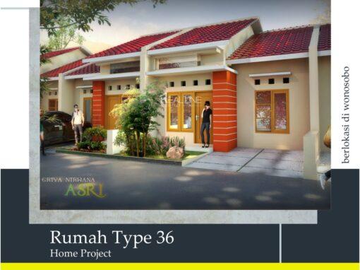 Rumah Tipe 36 (Minimalis)