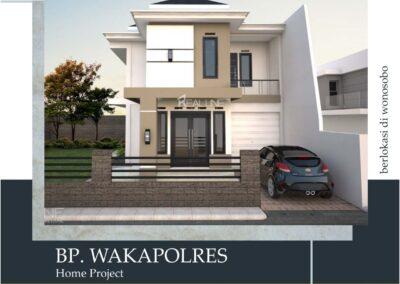 Rumah Bp. Wakapolres Wonosobo