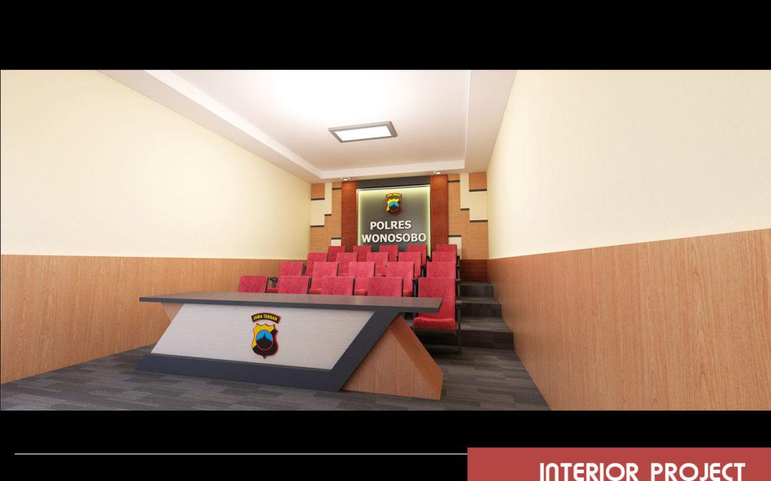 Interior Polres Wonosobo